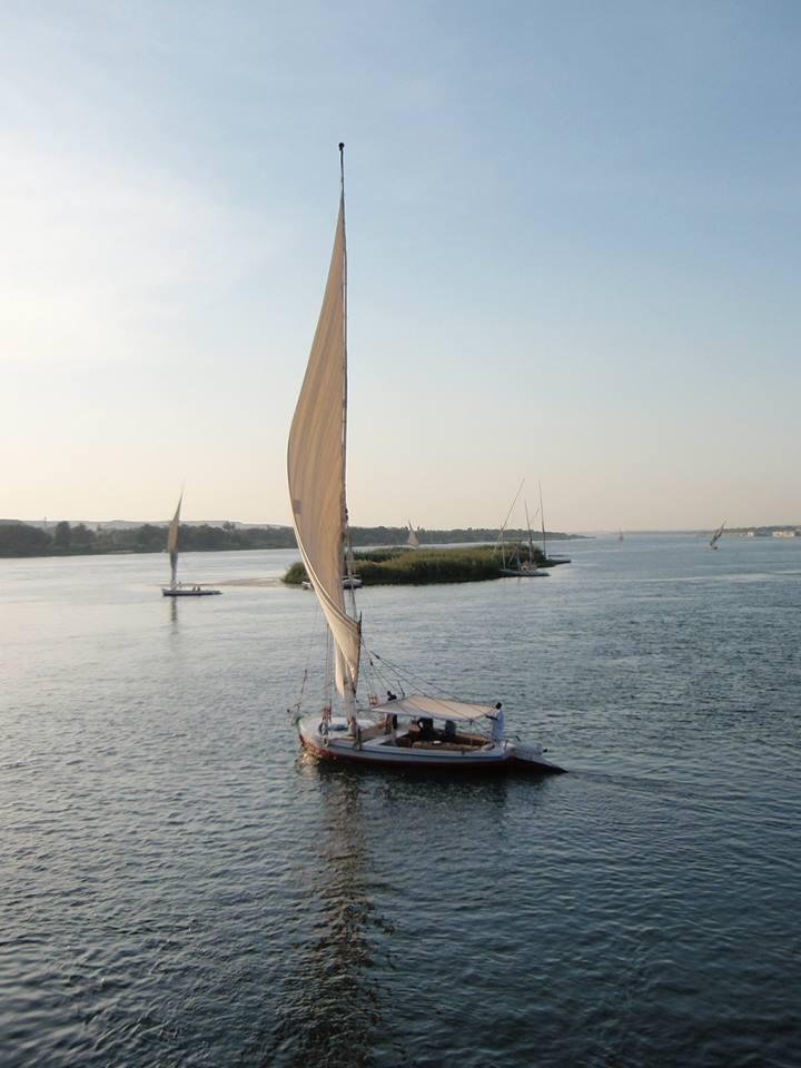 Felukka sejltur på Nilen