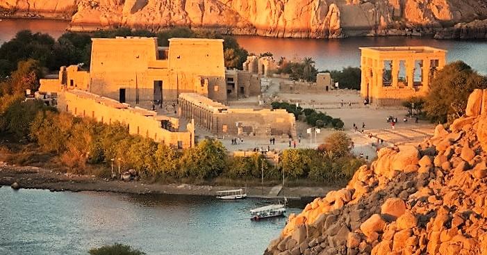 To dages tur til Aswan og Abu Simbel