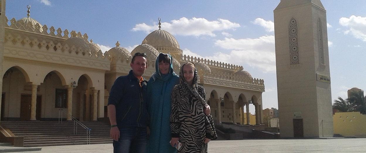Hurghada byrundtur med dansktalende guide