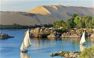 Kitherner's island Aswan