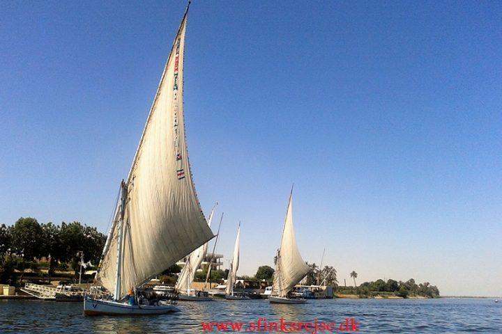 Felukka sejlads på Nilen
