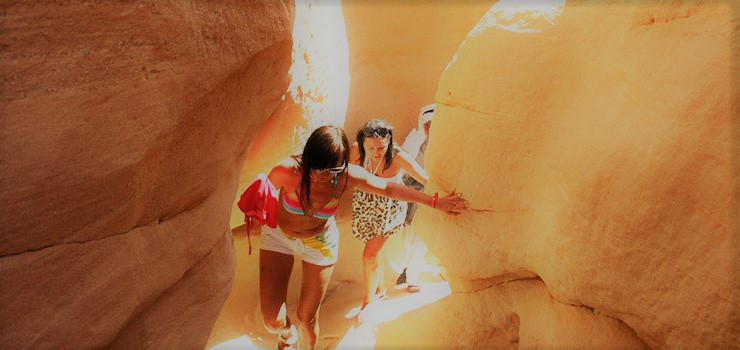 The excursion to the Colored canyon