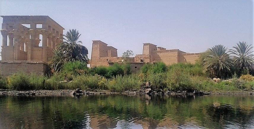 Philae templet, Den Høje Dæmning og Ufærdig obelisk Aswan