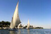 Felukka sejlads på Nilen Aswan