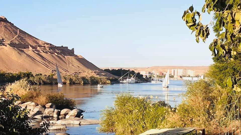 Felukka sejltur på Nilen Aswan
