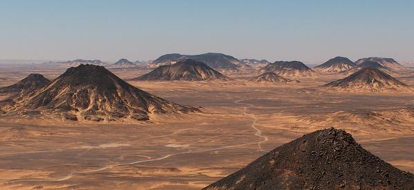 Den Sorte Ørken Egypten