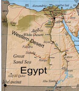 Farafra oasen - Den vestlige ørken