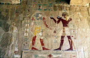 Dronning Hatshepsuit døds templet